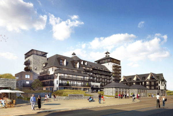 Project van Heykon: strandresidentie Cadzand-Bad.