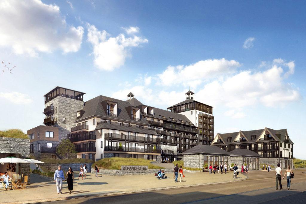 Project van Heykon: strandresidentie Cadzand-Bad.