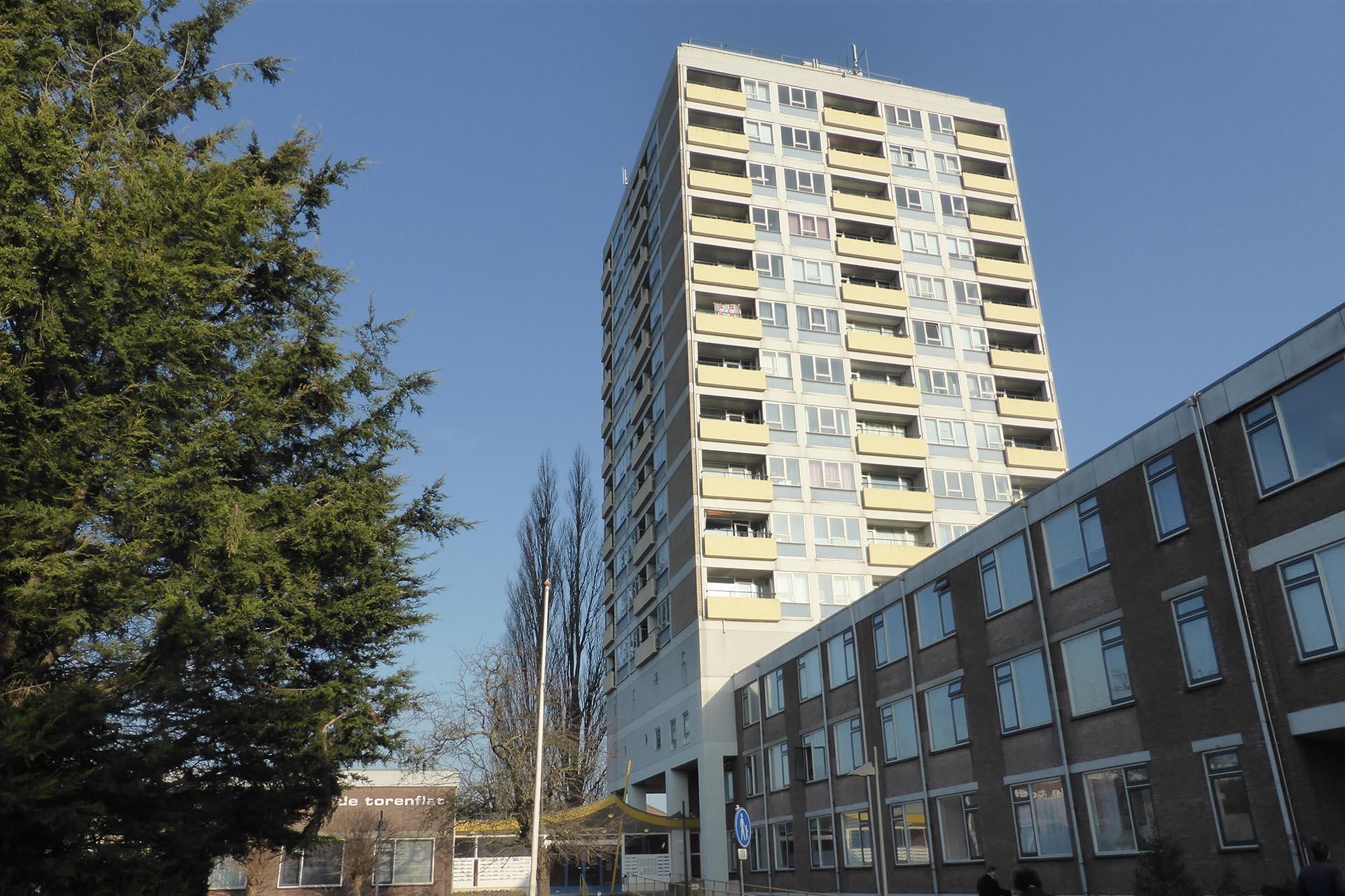 De Torenflat in Gorinchem, een project van Heykon.